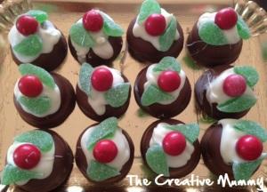 Christmas Puddings - The Creative Mummy