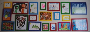 How to Display Kids Art Work - The creative Mummy