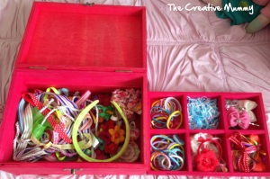 My Girl's Hair Accessories Storage and Organisation! The Creative Mummy