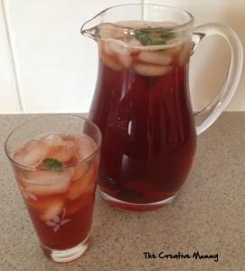 Ice Tea Recipe - The Creative Mummy