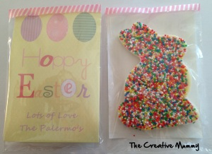 Chocolate Freckle Rabbit - The Creative Mummy