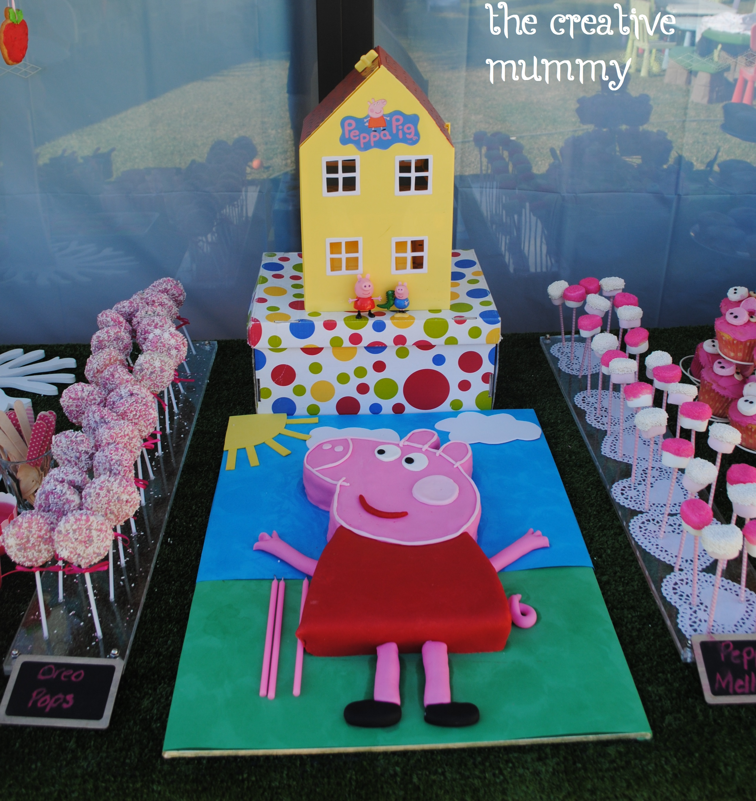 Mollys Peppa Pig Party Thecreativemummy