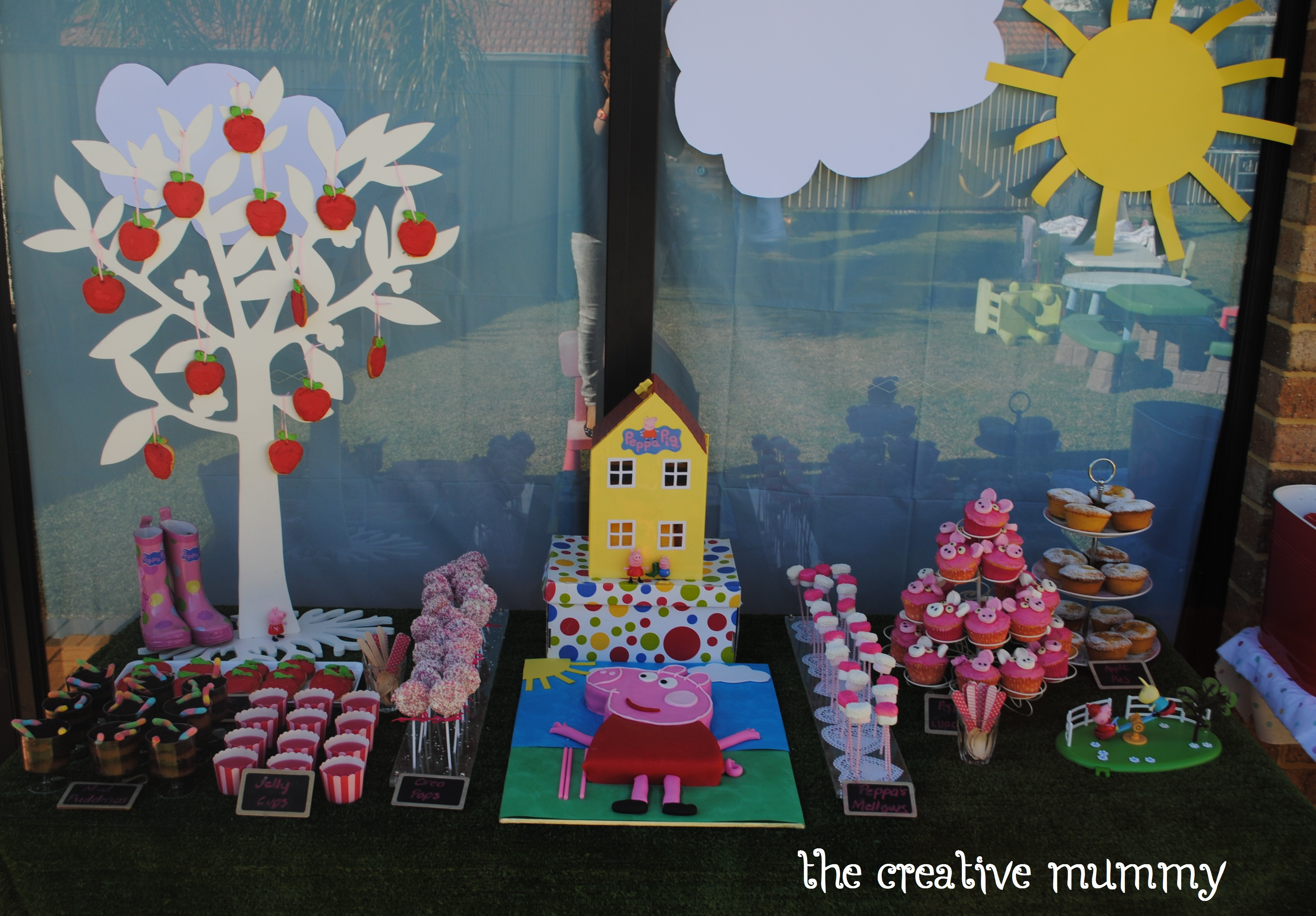 Molly S Peppa Pig Party Thecreativemummy