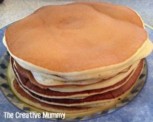 Pancake Recipe - The Creative Mummy
