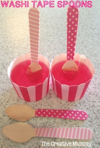 Washi Tape Spoons - The Creative Mummy