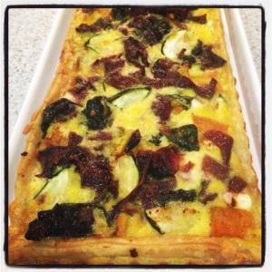 Vegetable & Feta Tart Thermomix Recipe - The Creative Mummy