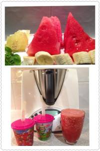 Watermelon Crush Thermomix Recipe - The Creative Mummy