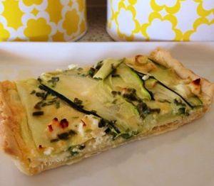Zucchini & Feta Tart Thermomix Recipe - The Creative Mummy