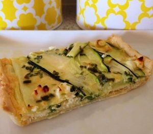 Zucchini & Feta Tart Thermomix Recipe - The Creative Mummy